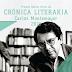 Invitan a concursar por el Premio Bellas Artes Crónica Literaria Carlos Montemayor