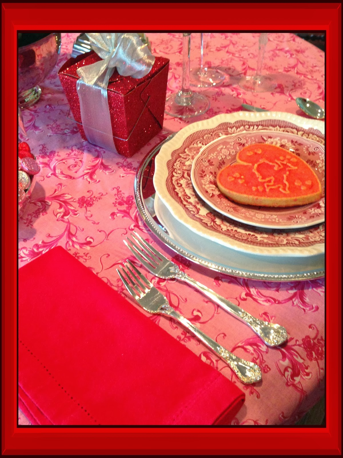 Re Invented Style Re Ceiving Guests Valentine S Day Table