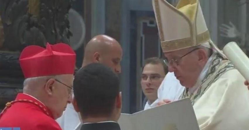 PEDRO BARRETO: Papa Francisco proclama a arzobispo metropolitano de Huancayo como nuevo cardenal del Perú