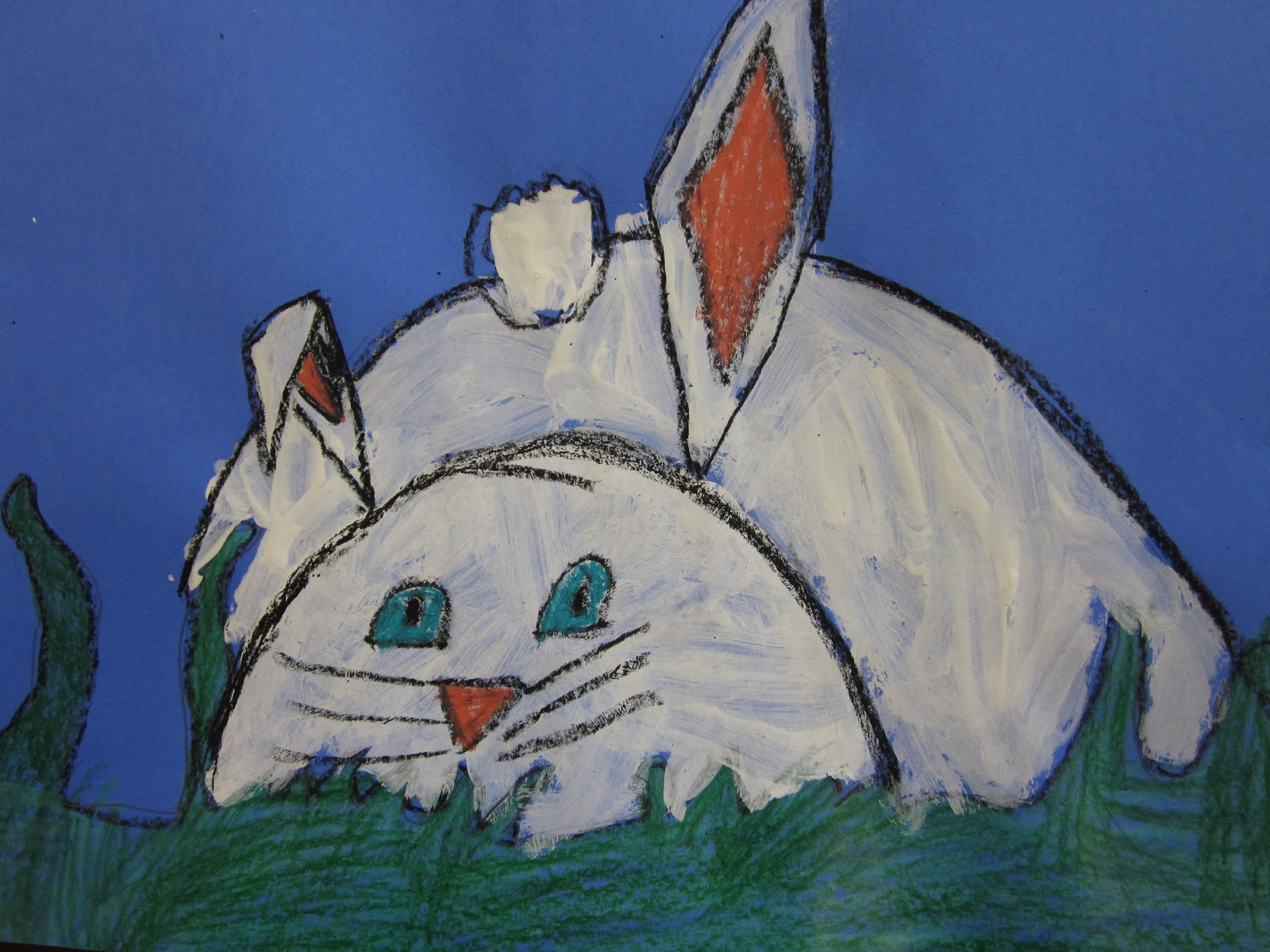 The Art Teacher S Closet In The Art Room Hiding Bunnies