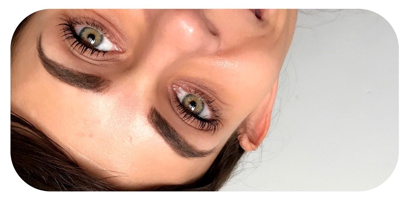 Delia pomada dark brown efekty, delia pomada na twarzy