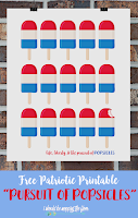 Patriotic Popsicles Free Printable