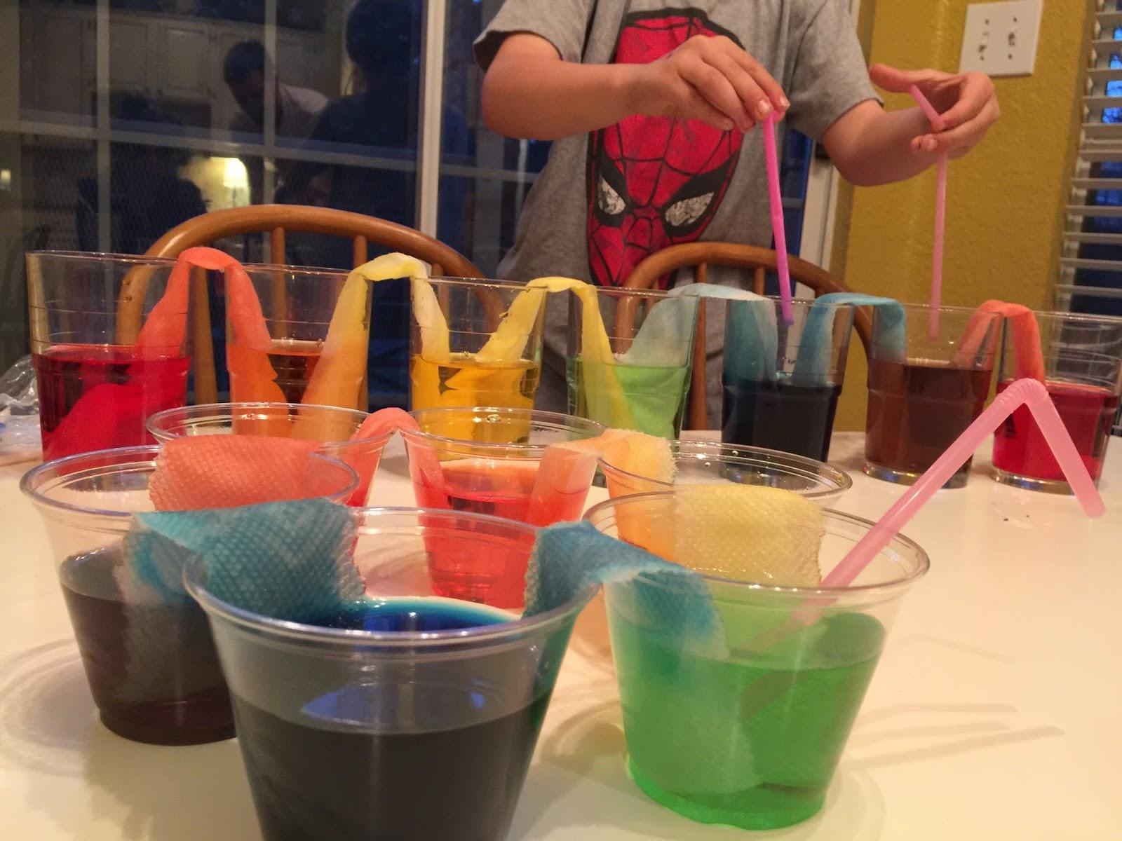 Rainbow Water Experiment | Momfessionals | Bloglovin'-