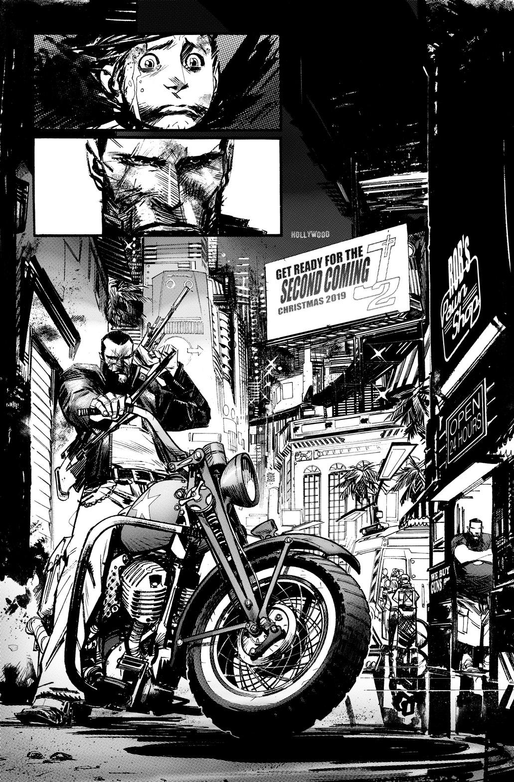 Punk Rock Jesus #1 Review