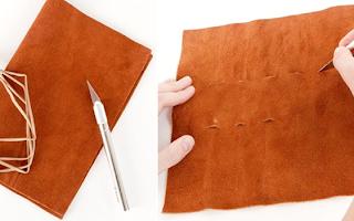 Makyaj Fırçaları için Çanta Yapımı