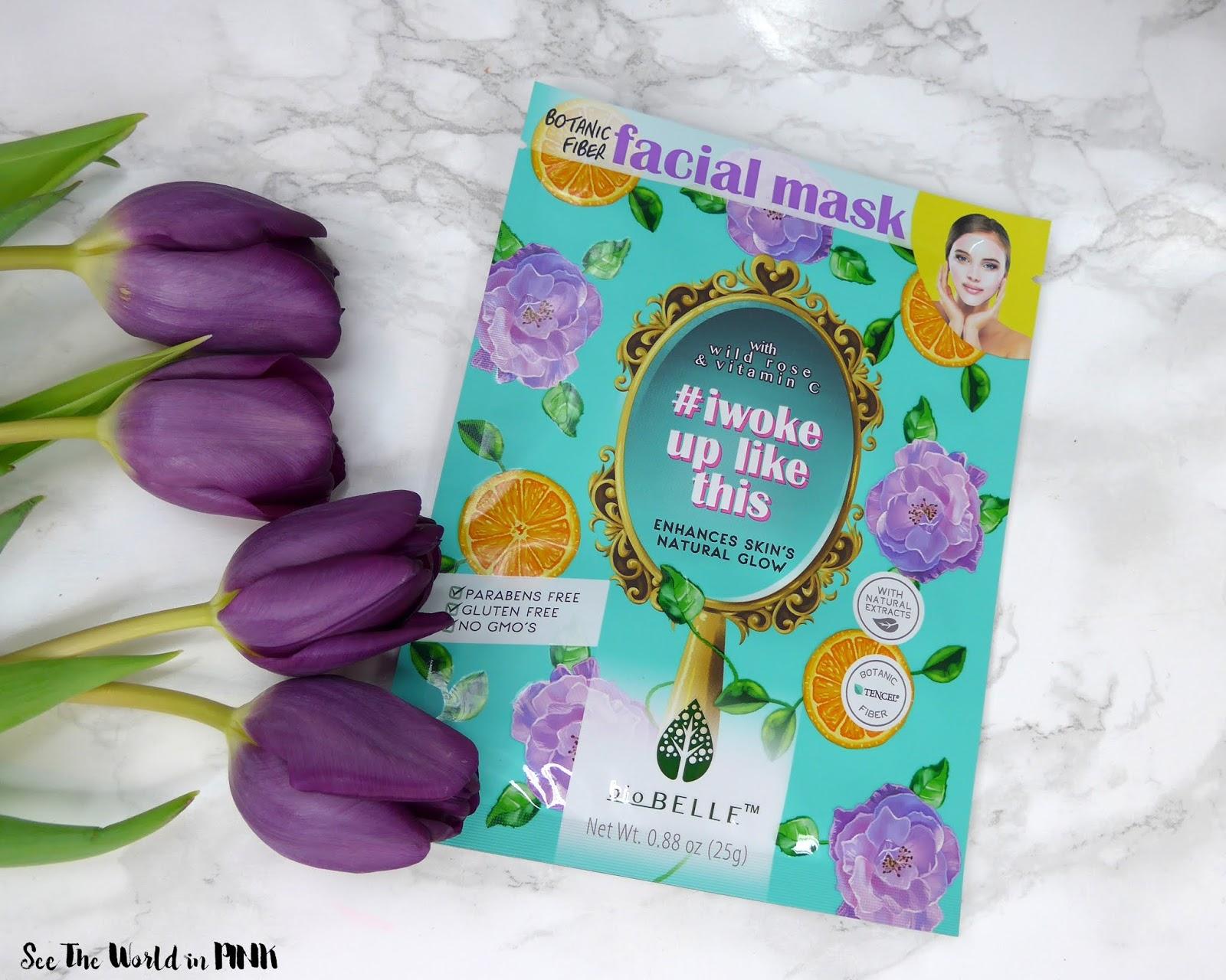 Skincare Sunday - Biobelle #IWOKEUPLIKETHIS Mask