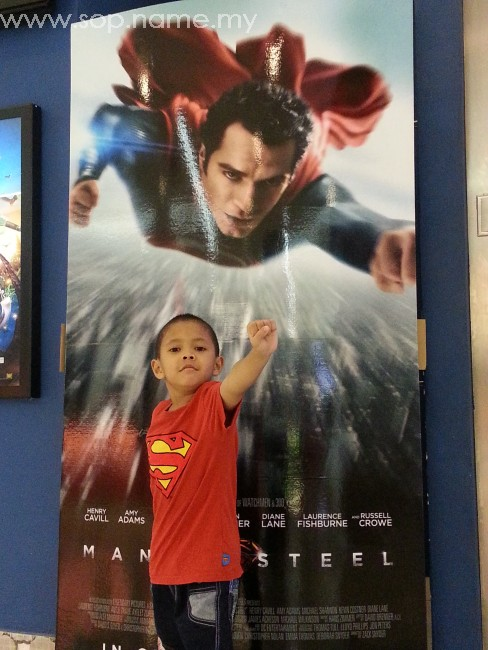 Menonton Filem Man Of Steel - Superman