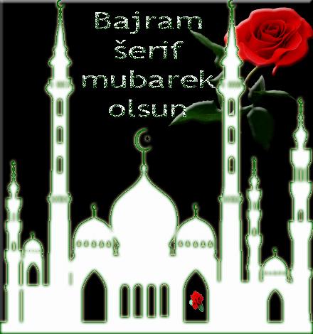 Čestitka za Bajram Bijela džamija
