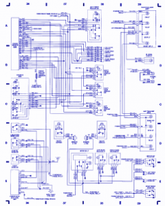 Circuit Panel 1993 VW Passat Electrical Circuit Diagram
