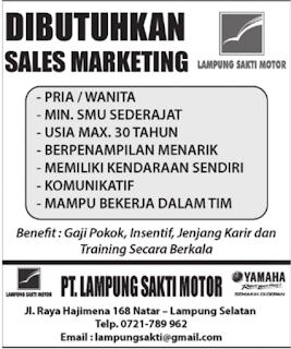 Bursa Lampung Terbaru Mei 2016 di Lampung Sakti Motor Bandar Lampung