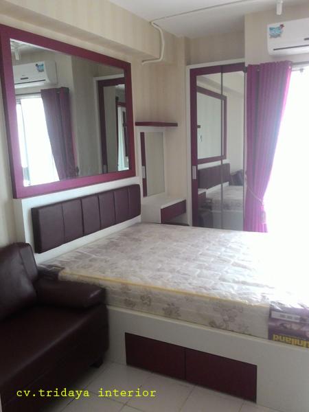 Cv tridaya interior desain apartemen 2 kamar interior for Design apartemen 2 kamar