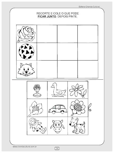 atividades matematica junto e separado