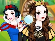 Snow White Good Apple Bad Apple is a free online game for girls on GamesGirlGames.com. Snow White and the Evil Queen together in a game, I hope there won't be any trouble! Hopefully the Evil Queen has turned a bit nicer in all those years since she poisoned Snow White with the bad apple. But most likely she is just as evil as she ever was!