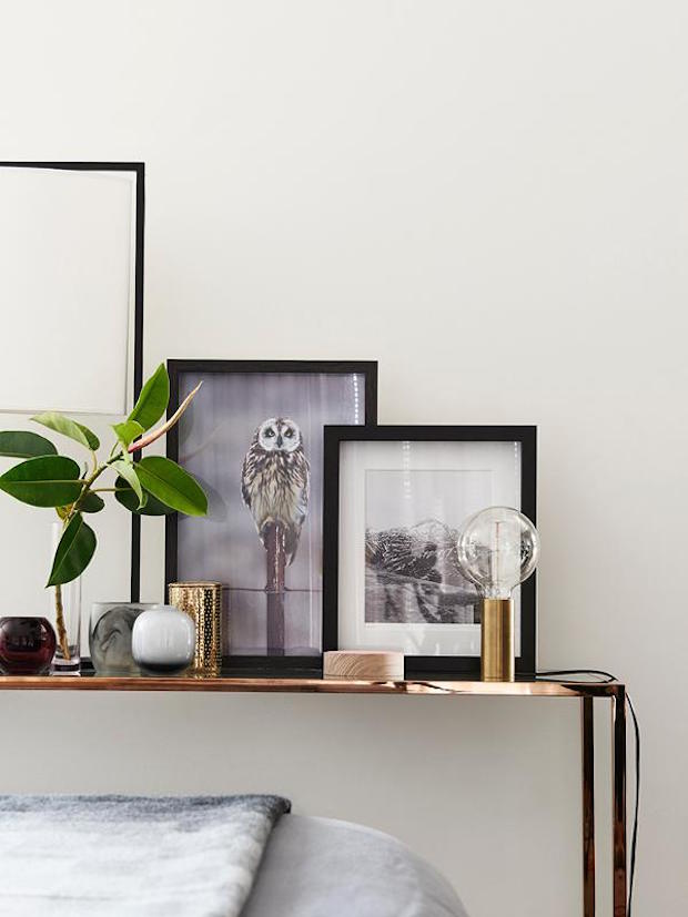 Sophisticated Home With Asian Tone: My Scandinavian Home: Monochrome, Brass And Mid-century In