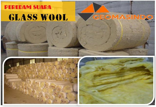 Distributor Peredam suara Glass wool murah dan berkualitas di Indonesia