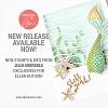 Essentials by Ellen Inner Mermaid stamp set