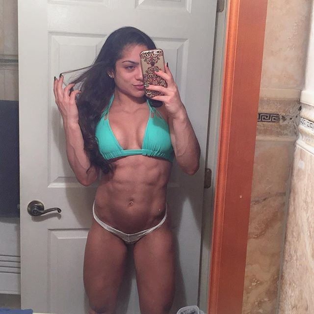 Ariel Khadr IFBB Fitness Pro Instagram photos