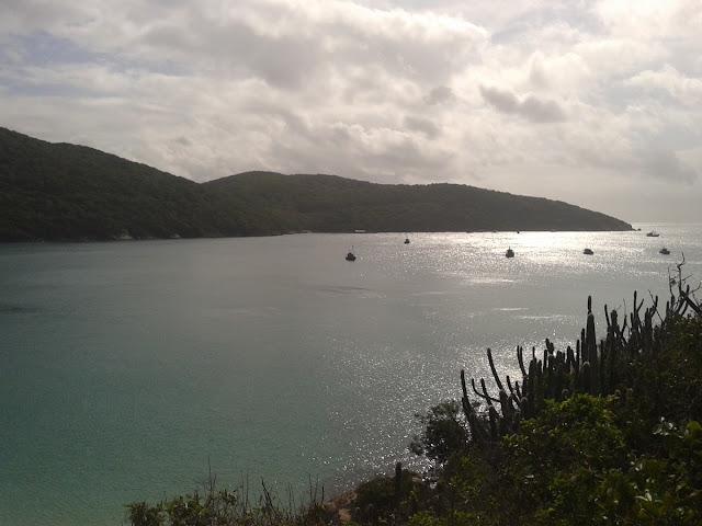 Vista da Ponta de Mergulho Pedra Preta
