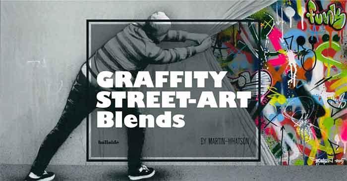 street art - seni stensil dan grafiti karya Martin Whatson