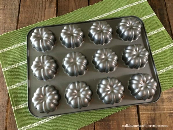 Mini Bundt Pan from Walking on Sunshine