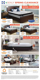 Ashley HomeStore Canada Flyer March 22 - April 4, 2018