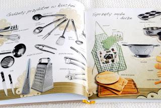 Wnętrze książki, przydatne sprzęty