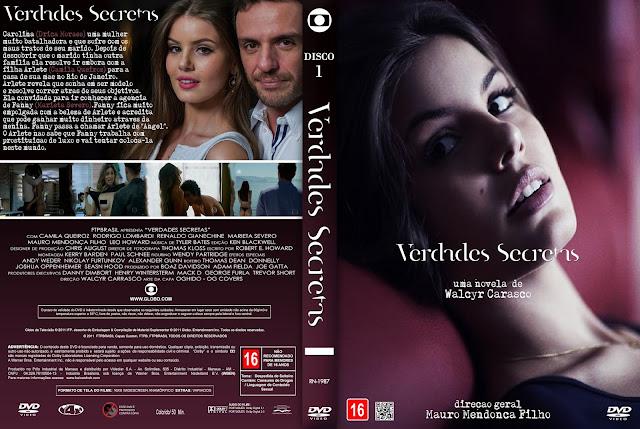 Capa DVD Verdades Secretas T01 D1 a D8