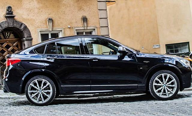 2019 BMW X4 spied