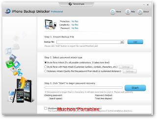 Tenorshare iPhone Backup Unlocker Professional Portable