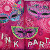 Art Journal Pink Party