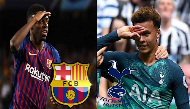 Prediksi Bola Barcelona vs Tottenham Hotspur Liga Champions