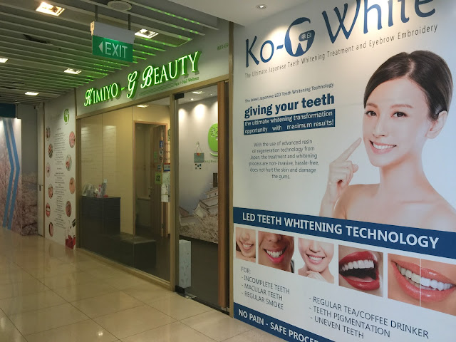 Kimiyo G Beauty Clarke Quay Central Review