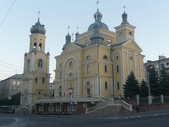 Тернополь. Церковь Успения Пресвятой Богородицы