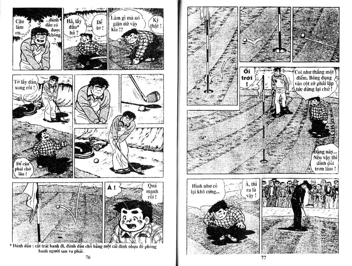 Ashita Tenki ni Naare chapter 7 trang 37