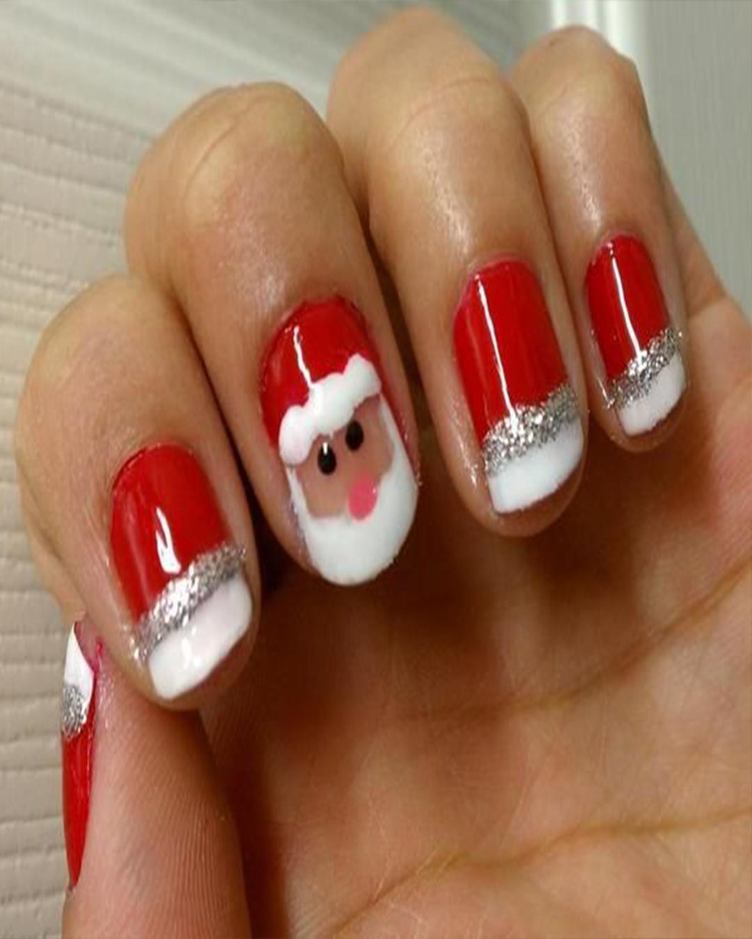 Uñas Decoradas De Navidad Fáciles De Hacer Y Que Están De Moda