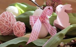 Coniglio rosa di Pasqua