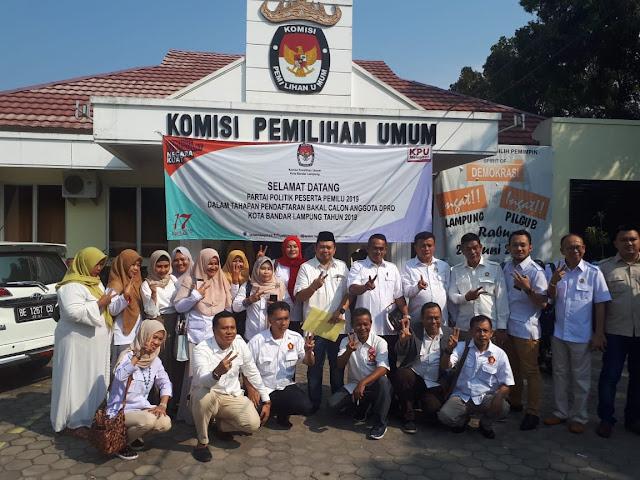 Gerindra Kota Bandar Lampung Usung Caleg Muda