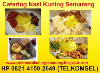 Harga Nasi Kuning Semarang