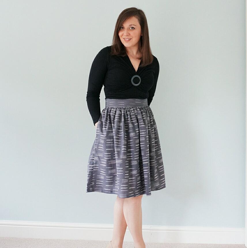 #wardrobebuilder skirt  - no pattern Clemence