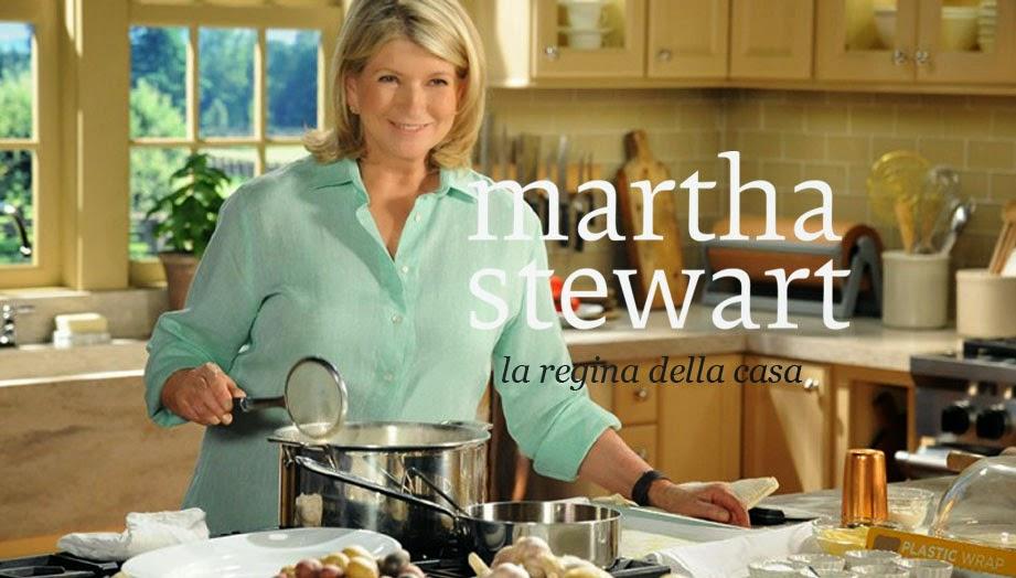 regina della casa Martha Stewart