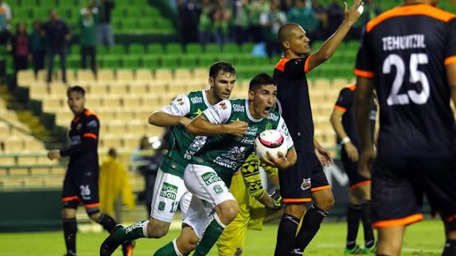 Alebrijes vs Leon en vivo Copa MX hoy 30 Agosto