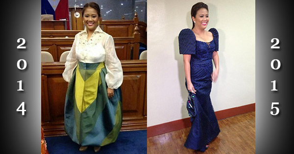 Nancy Binay Dress At 2015 Sona What S The Color
