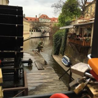 prague czech republic wanderlust travelblog europe river troll