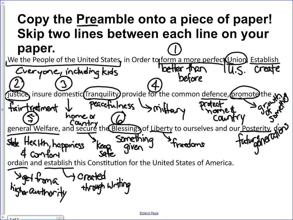 Phd thesis preamble