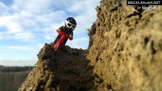 [ZDJĘCIA] Lego w rowerowym downhillu, freeride i enduro