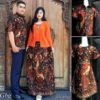 contoh baju batik sarimbit keluarga