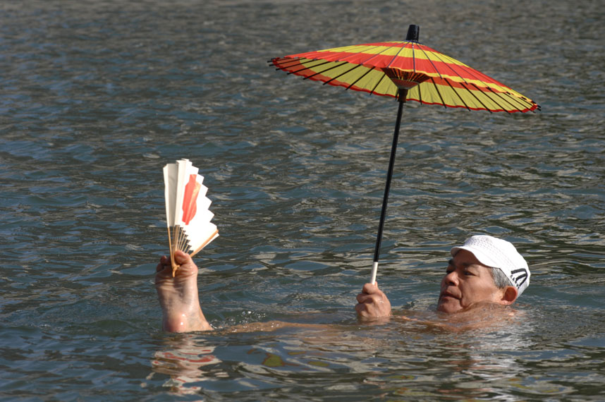 Be not Defeated by the Rain: Japanese Traditional Swimming Methods - 古式泳法