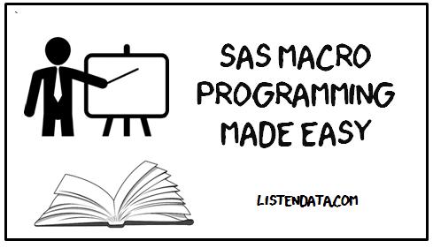 Sas Macro Programming Made Easy Pdf