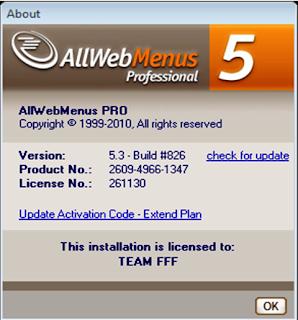 Allwebmenus 5 pro