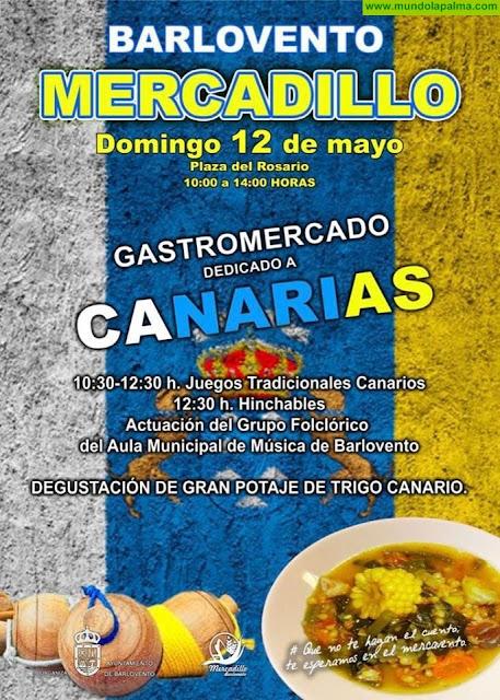 Mercadillo de Barlovento - Gastromercado dedicado a Canarias